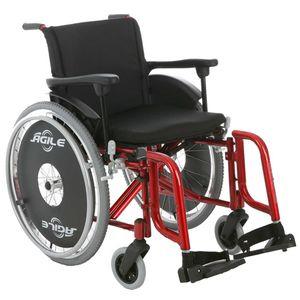 Cadeira-de-Rodas-Agile-Vermelho-Metalico-Jaguaribe