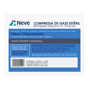Compressa-de-Gaze-Esteril-13F-75X75-Neve