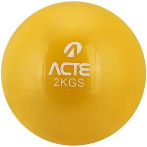 Par-de-Bolas-Tonificadoras-com-Peso-2kg-Amarela-T56-Acte