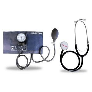 Kit-Esteto-Duplo-com-Aparelho-de-Pressao-Azul-Premium