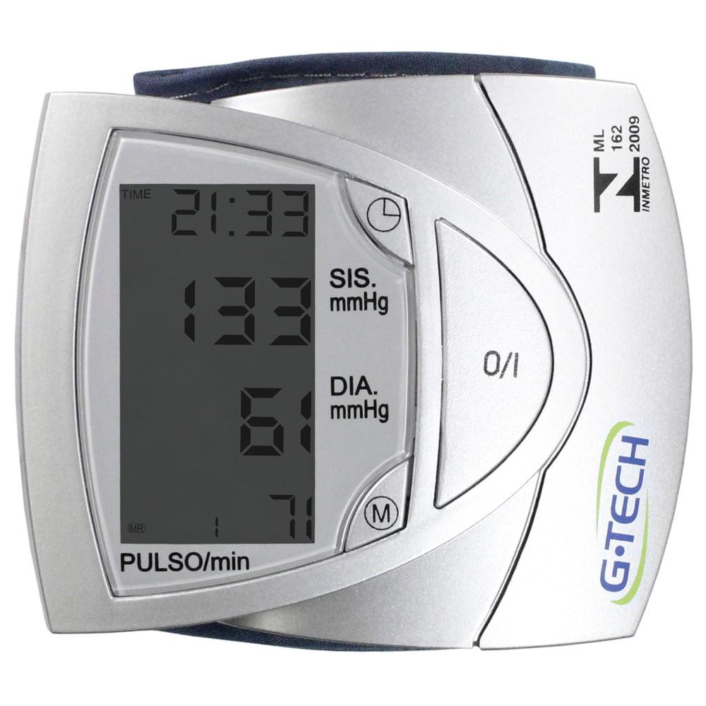 ad56e224f Aparelho de Pressão De Pulso Automático BP3AF1 S G Tech - Maconequi