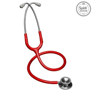 Estetoscopio-Professional-Adulto-Vermelho-Spirit--