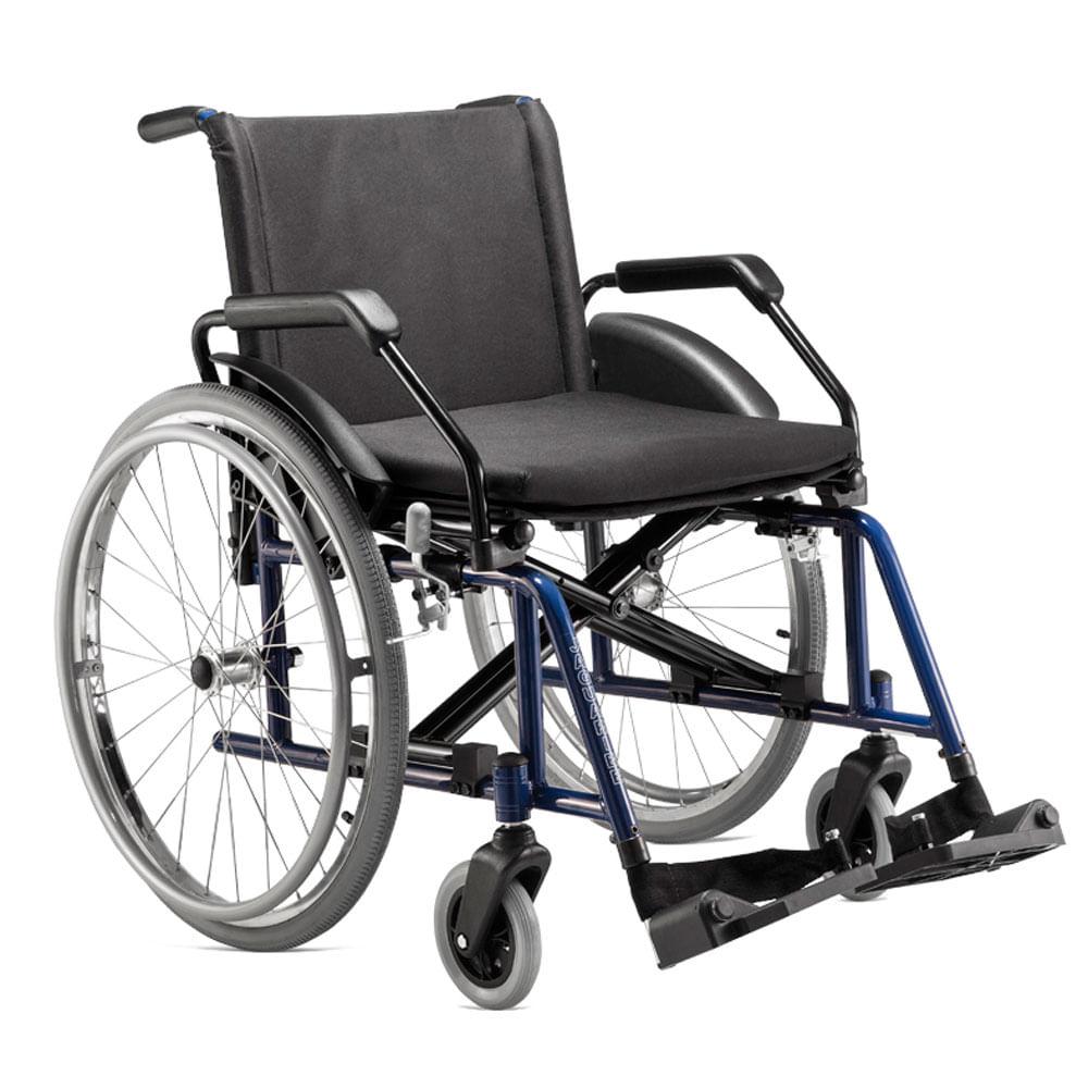 72973dc47c88a Cadeira de Rodas Poty Azul Jaguaribe - Maconequi