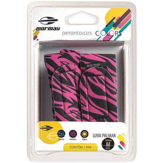 Luva-Palmar-Colors-Zebra-Pink-Mormaii-