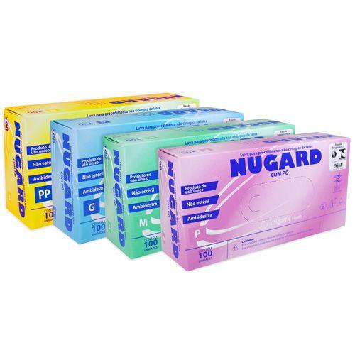 300be5593 Luva de Procedimento de Látex Nugard - Maconequi