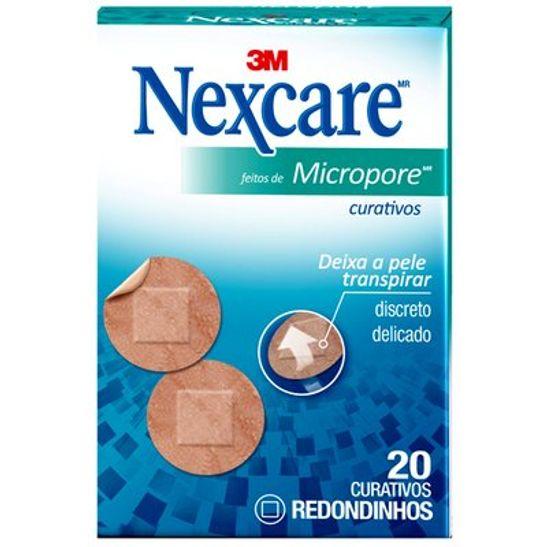 Curativo-Feito-de-Micropore-com-20un-Nexcare-3M