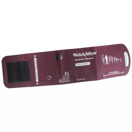 Bracadeira-Welch-Allyn-Grande-Reusavel-Flexiport-12