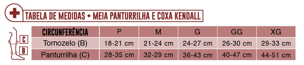 7363d64ac MEIA PANTURRILHA 18-21 MEDIA KENDALL - Maconequi