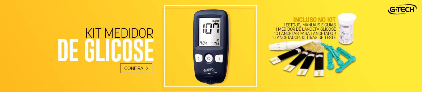 Kit Medidor de Glicose Free1 - Abril / 2018