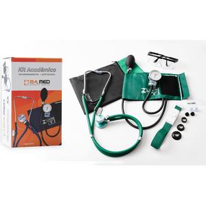 Kit Academico de Enfermagem Verde Pa Med