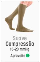 meias de compressão, suave compressao