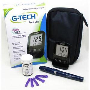 Kit-Medidor-de-Glicose-Free-Lite-G-Tech-