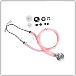Estetoscópio Rosa Premium na Loja da Maconequi