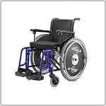Cadeira de Rodas de Alumínio da Jaguaribe na Loja da Maconequi