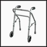 Andador para idoso com rodas na Loja da Maconequi