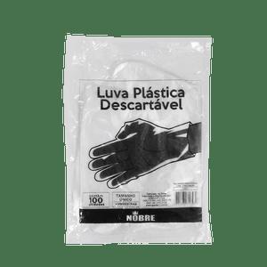 Luva-Plastica-Descartavel-Nobre-