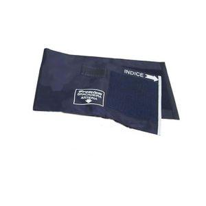 Bracadeira-em-Nylon-com-Fecho-em-Velcro-Azul-Premium-
