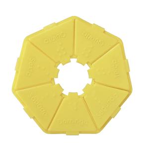 Porta-Comprimido-Pequeno-Amarelo-Incoterm