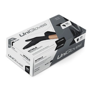 Luva-Nitrilica-Preta-Premium-Unigloves-P