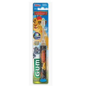 Escova-Dental-Guarda-do-Leao-Azul-com-Luz-que-Pisca-Gum