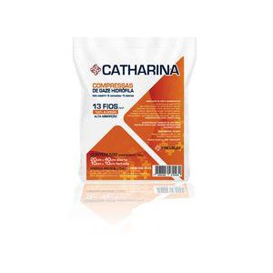 Compressa-de-Gaze-Nao-Esteril-13-Fios-Premium-Catharina-America