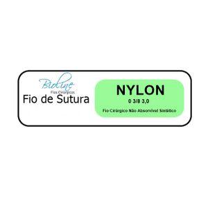 Fio-de-Sutura-Nylon-Bioline