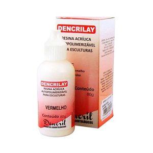 resina-acrilica-auto-dencrilay-vermelho-80gr-dencril