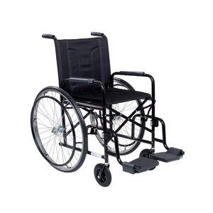 Cadeira-de-Rodas-CDS-M2000-Preta-Pneu-Inflavel