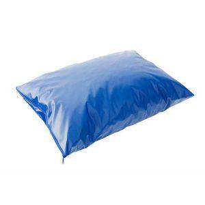 Capa-Protetora-em-Courvin-para-Almofada-Caixa-de-Ovo-Azul-com-ziper-Senior-Care