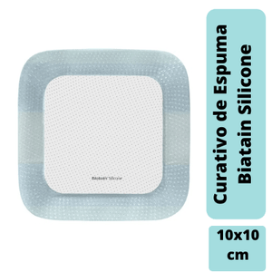 Curativo-Biatain-Silicone-10x10cm-Coloplast-33435