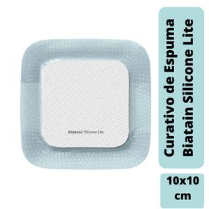 Curativo-Biatain-Silicone-Lite-10x10cm-Coloplast-33445