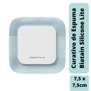 Curativo-Biatain-Silicone-Lite-75x75cm-Coloplast-33444