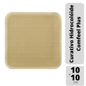 Curativo-Hidrocoloide-10x10cm-Comfeel-Plus-Coloplast-3110