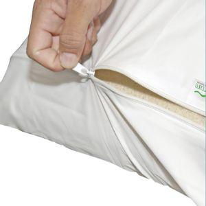Fronha-Ziper-Siliconizada-Branca-Senior-Care
