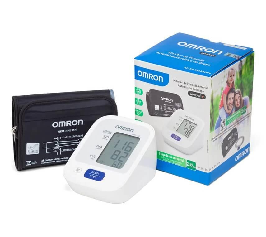 medidor pressão 7122 omron