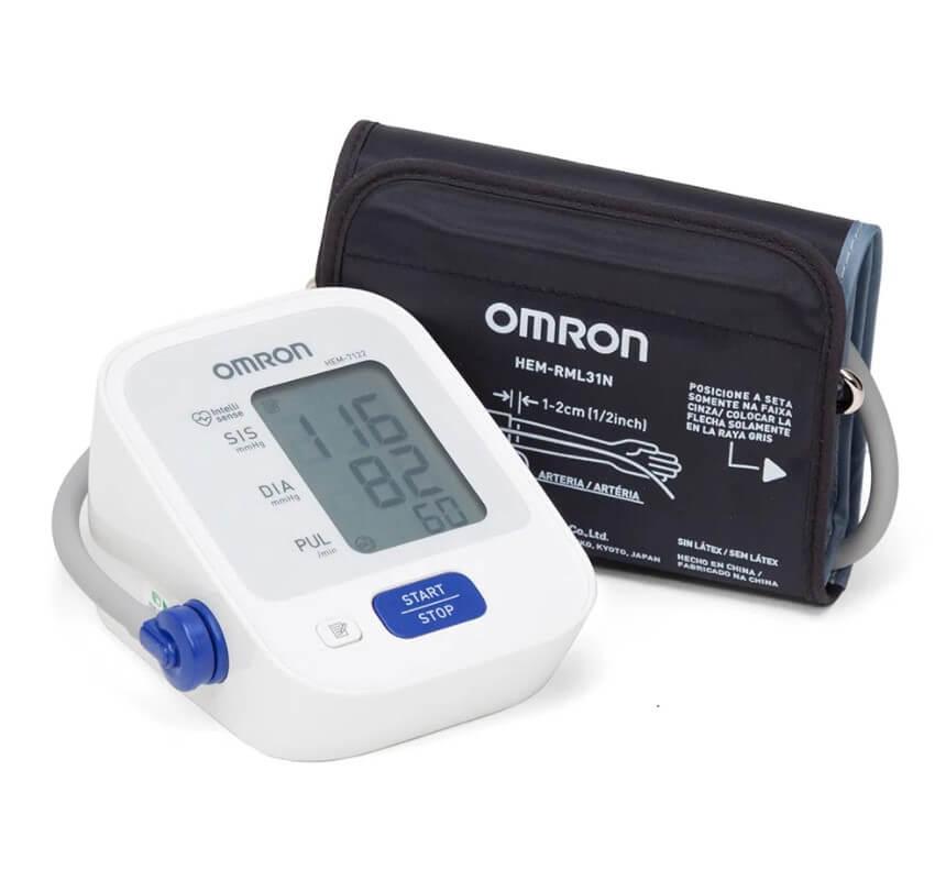 medidor de pressão arterial 7122 omron
