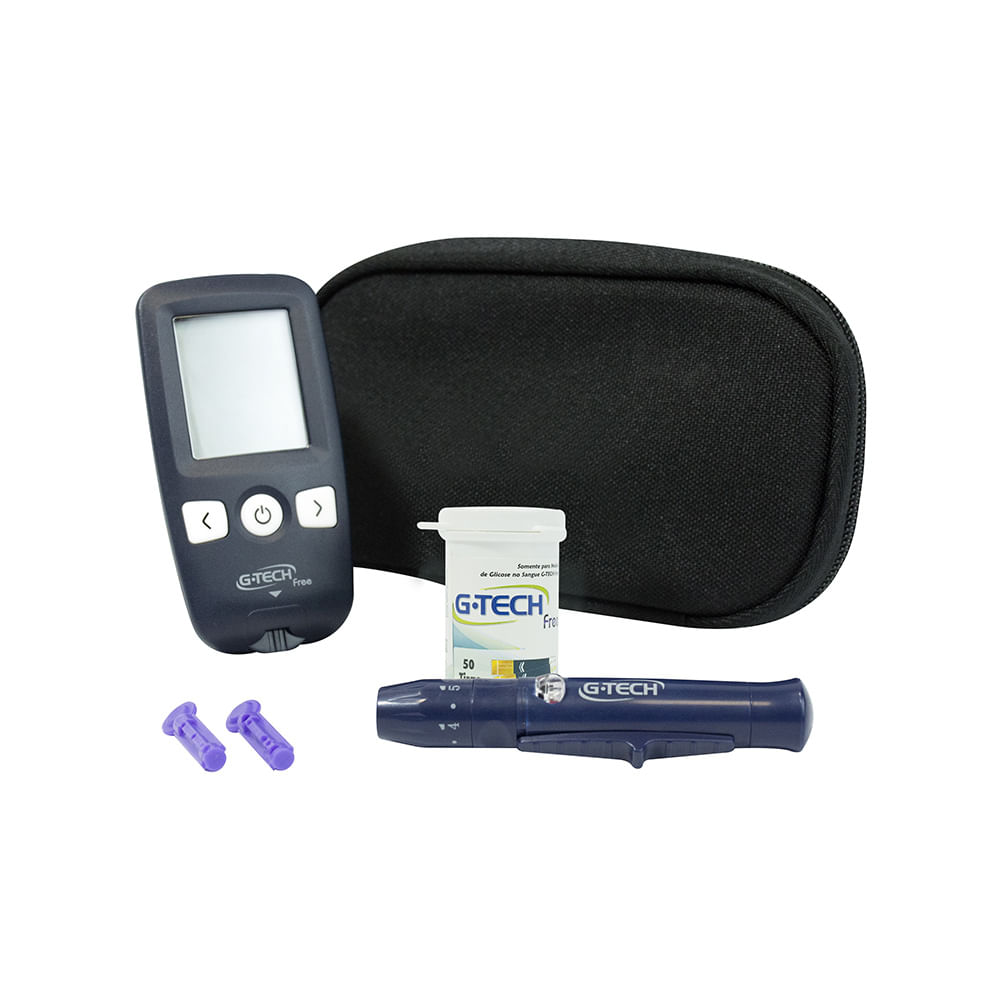 medidor de glicose g tech free