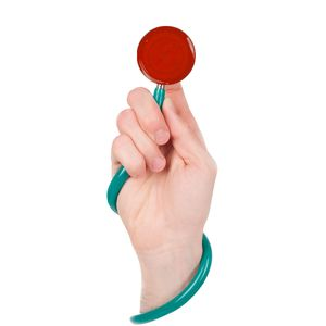 Protetor-Estetoscopio-Para-Biosseguranca-ortho-pauher-vermelho