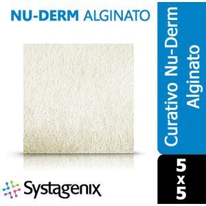 Curativo-Nu-Derm-Alginato-Systagenix-5x5
