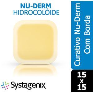 Curativo-Nu-Derm-Hidrocoloide-Systagenix-Borda-15x15
