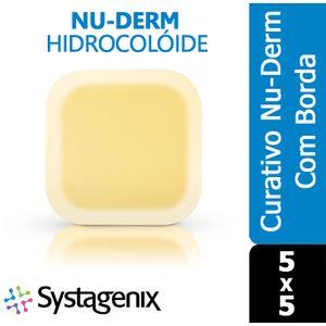 Curativo-Nu-Derm-Hidrocoloide-Systagenix-Borda-5x5