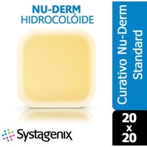 Curativo-Nu-Derm-Hidrocoloide-Systagenix-Standard-20x20