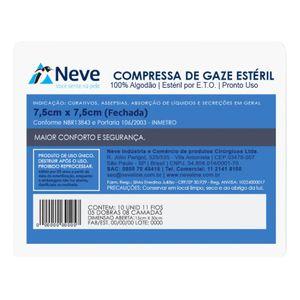 Compressa-de-Gaze-Esteril-11-Fios-Neve