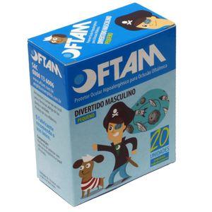 Protetor-Ocular-Oftam-Divertido-Azul-AMP