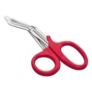 Tesoura-Para-Bandagem-19cm-Vermelha-MD