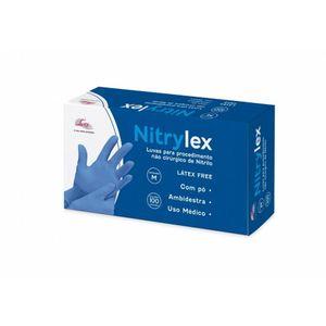 Luva-Nitrilica-Blue-Nitrylex